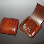 cocobolo rosewood tiny jewelry box